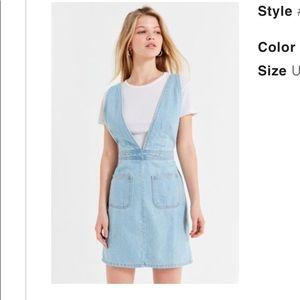 UO | Plunge V-neck Plunge Mini Dress NWT